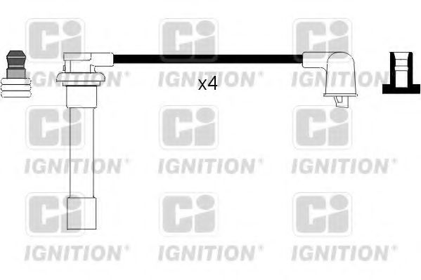 Комплект проводов зажигания QUINTON HAZELL XC927