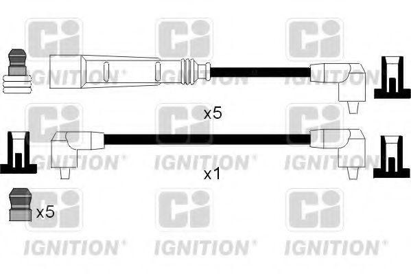 Комплект проводов зажигания QUINTON HAZELL XC948