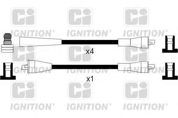 Комплект проводов зажигания QUINTON HAZELL XC959