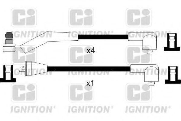 Комплект проводов зажигания QUINTON HAZELL XC969