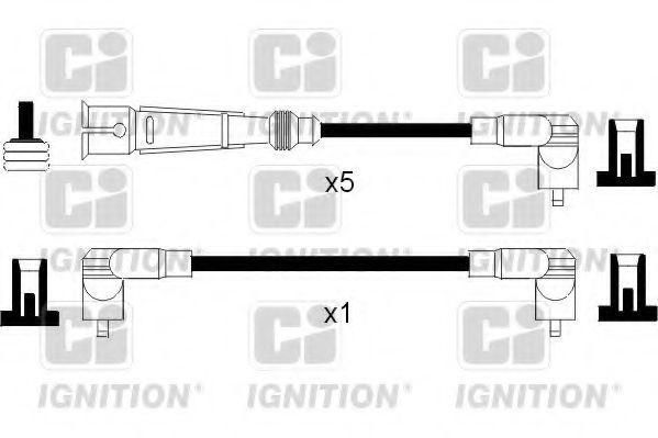 Провода высоковольтные комплект QUINTON HAZELL XC973