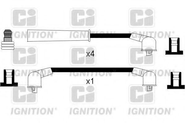 Комплект проводов зажигания QUINTON HAZELL XC976