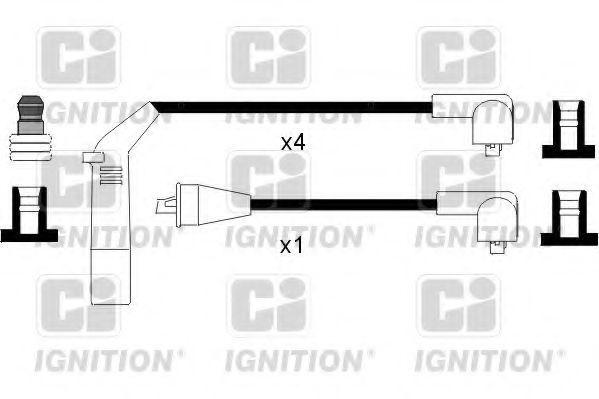 Комплект проводов зажигания QUINTON HAZELL XC985