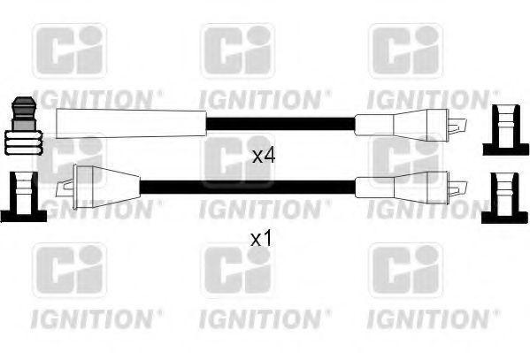 Комплект проводов зажигания QUINTON HAZELL XC990