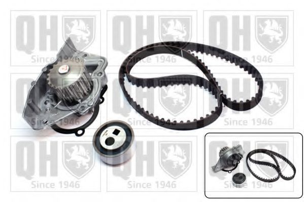 Водяной насос + комплект зубчатого ремня QUINTON HAZELL QBPK1200