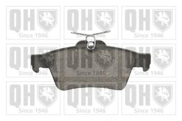 Колодки тормозные QUINTON HAZELL BP1498