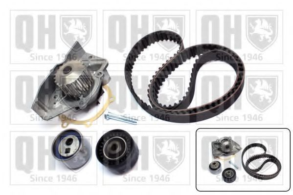 Водяной насос + комплект зубчатого ремня QUINTON HAZELL QBPK2401