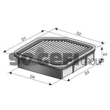 Воздушный фильтр FRAM CA11721