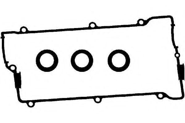 Комплект прокладок, крышка головки цилиндра GOETZE ENGINE 2430470000