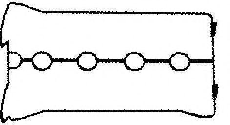 Прокладка, крышка головки цилиндра GOETZE ENGINE 5003046300