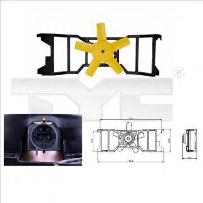 Вентилятор охлаждения двигателя TYC 8100021