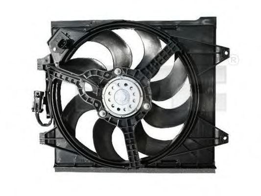 Вентилятор охлаждения двигателя TYC 809-1006
