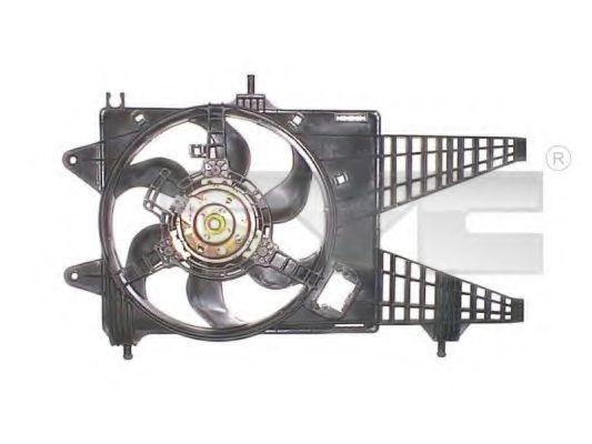 Вентилятор охлаждения двигателя TYC 8091015