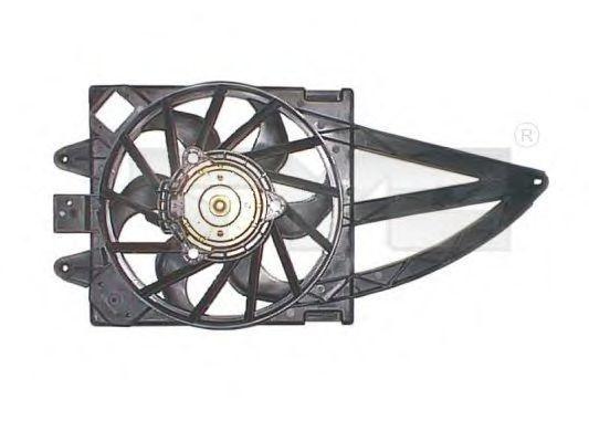 Вентилятор охлаждения двигателя TYC 809-1016