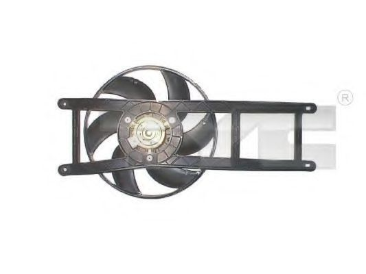 Вентилятор охлаждения двигателя TYC 809-1017