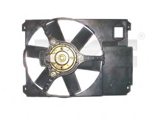 Вентилятор охлаждения двигателя TYC 809-1018