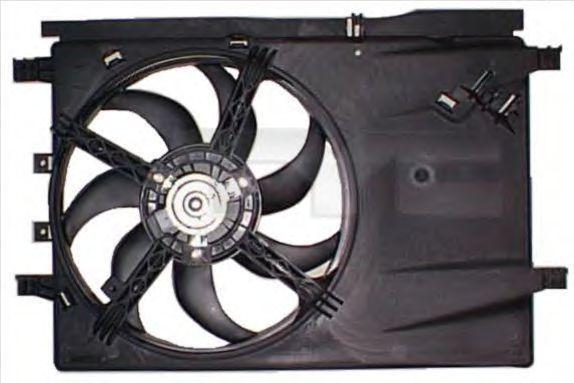 Вентилятор охлаждения двигателя TYC 809-1001