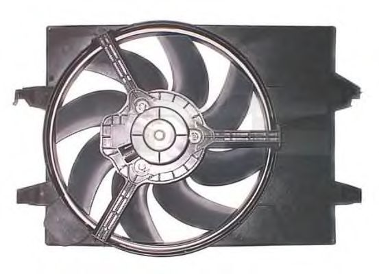 Вентилятор, охлаждение двигателя TYC 8101014