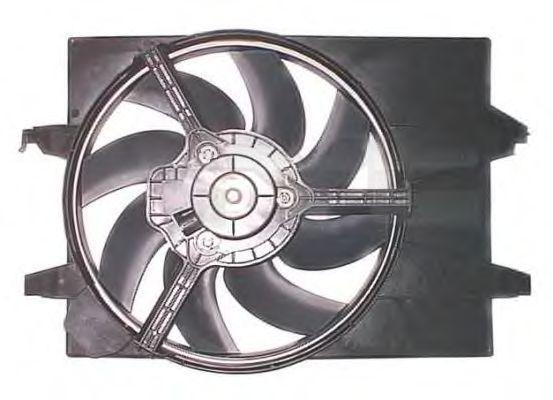Вентилятор, охлаждение двигателя TYC 8201001