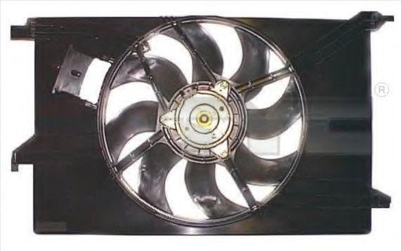 Вентилятор охлаждения двигателя TYC 8251024