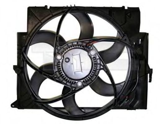 Вентилятор, охлаждение двигателя TYC 8031001