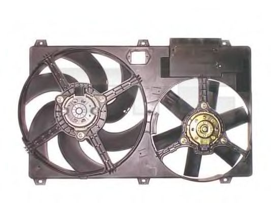 Вентилятор, охлаждение двигателя TYC 8051010