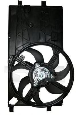 Вентилятор, охлаждение двигателя TYC 8051013