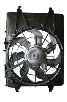 Вентилятор охлаждения двигателя TYC 8131004