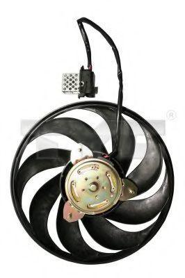 Вентилятор охлаждения двигателя TYC 825-1026