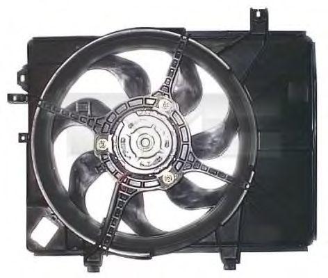 Вентилятор охлаждения двигателя TYC 813-1002