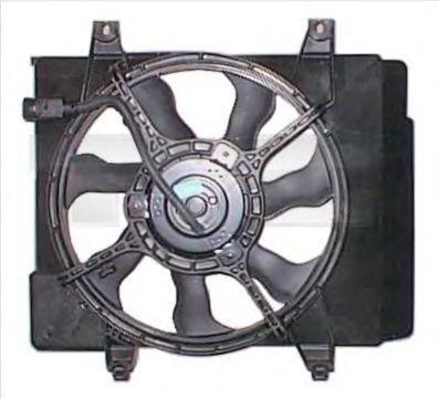 Вентилятор охлаждения двигателя TYC 8171001