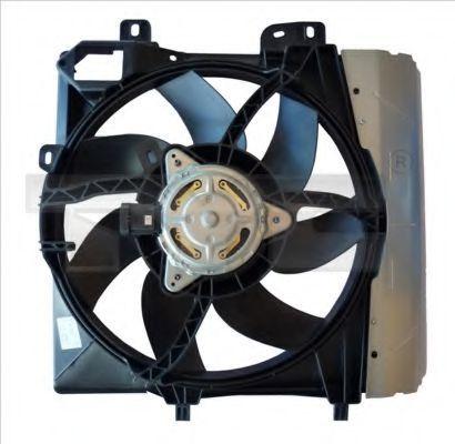 Вентилятор охлаждения двигателя TYC 8050009