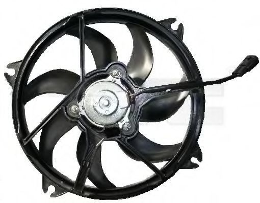 Вентилятор охлаждения двигателя TYC 805-0010