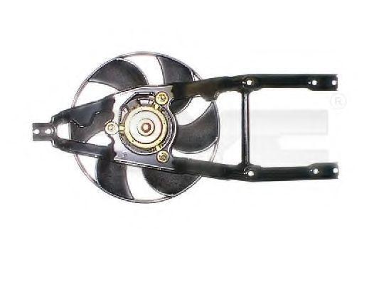 Вентилятор, охлаждение двигателя TYC 8090019
