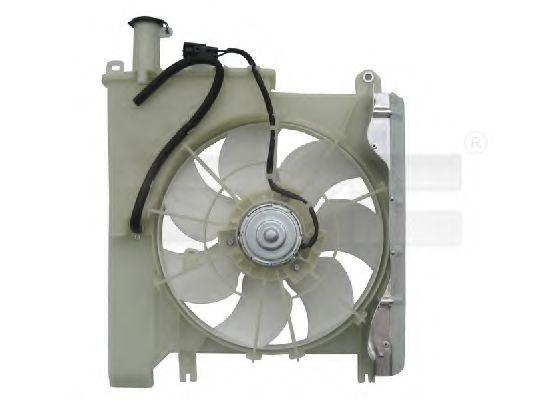 Вентилятор охлаждения двигателя TYC 8360019