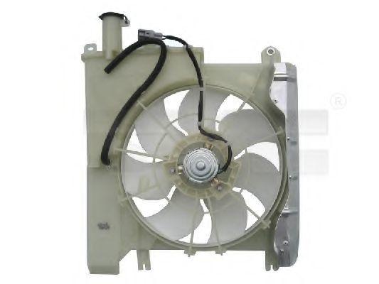 Вентилятор охлаждения двигателя TYC 836-0020