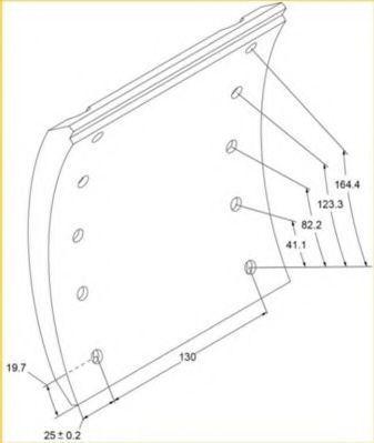 Купить Накладки тормозные FERODO K191911F3504