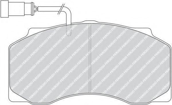 Купить Колодки тормозные грузовые FERODO FCV1042