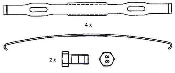 Купить Колодки тормозные грузовые FERODO FCV4115BFE