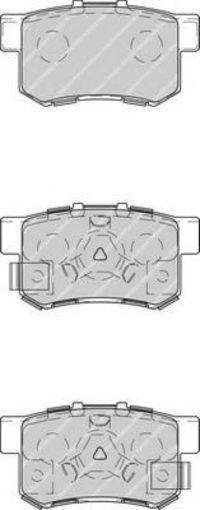 Колодки тормозные задние FERODO FDB4227