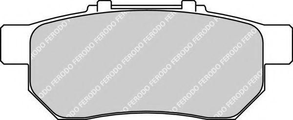 Колодки тормозные FERODO FDB778