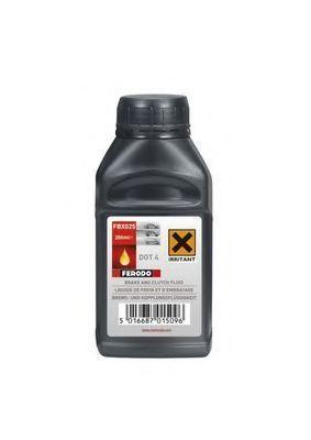 Изображение Тормозная жидкость DOT4 250мл FERODO FBX025: описание