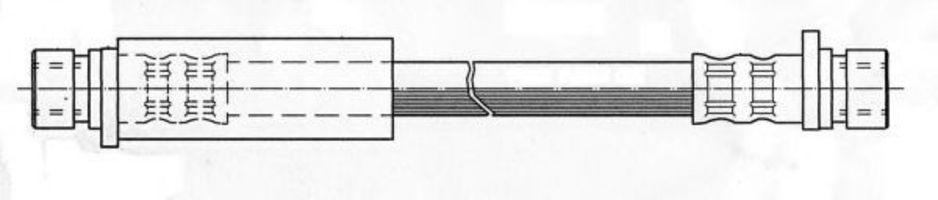 Тормозной шланг FERODO FHY2339