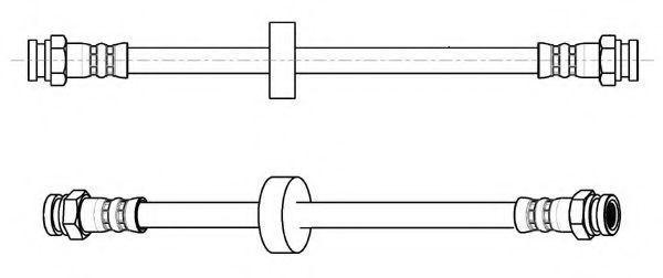 Тормозной шланг FERODO FHY2836