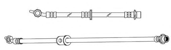 Тормозной шланг FERODO FHY2844