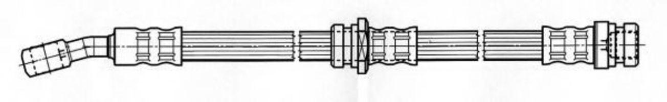 Тормозной шланг FERODO FHY3130