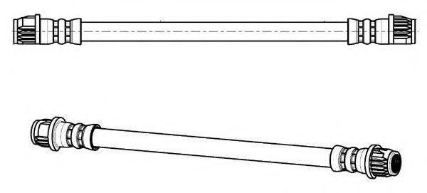 Тормозной шланг FERODO FHY3064