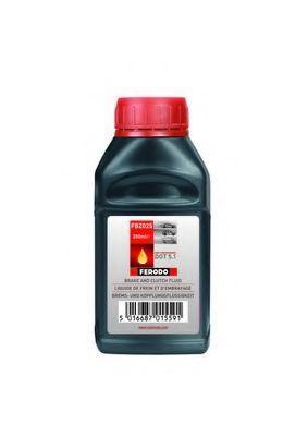 Изображение Тормозная жидкость DOT5.1 250мл FERODO FBZ025: купить