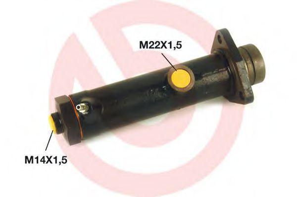 Главный тормозной цилиндр BREMBO M50040