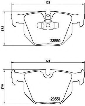 Купить Колодки тормозные BREMBO P06039